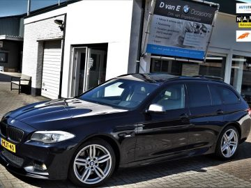 BMW 5-serie Touring 535xd High Executive M- Pakket | head- up| pano | 550 look | softclose