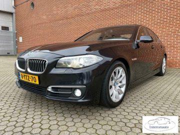 BMW 5-serie 530D High Executive GLZ.SCHFDK, LEER, Bi-Xenon