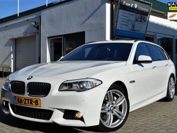 BMW 530D Touring High Executive M- pakket | panodak | softclose | headup | comfortstoel