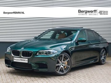 "BMW M5 Competition | Individual ""Peridot Green"" 