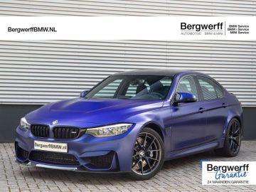 "BMW M3 CS Individual ""Frozen Dark Blue II metallic"""